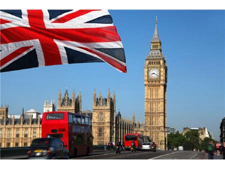 London Union jack in Big Ben