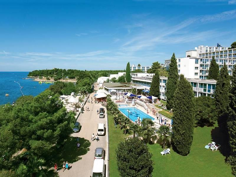 Hotel Zorna 3* v Poreču, all inclusive